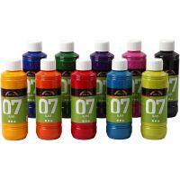 A-Color Glass, diverse kleuren, 10x250 ml/ 1 karton