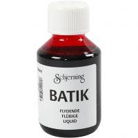Batikverf, roze, 100 ml/ 1 fles