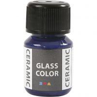 Glas Keramiek verf, lavendelblauw, 35 ml/ 1 fles