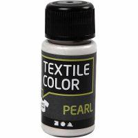 Textile Color, parelmoer, base, 50 ml/ 1 fles