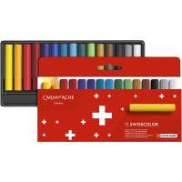 Neocolor II, L: 5 cm, diverse kleuren, 15 stuk/ 1 doos