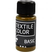 Textile Color, olijfbruin, 50 ml/ 1 fles