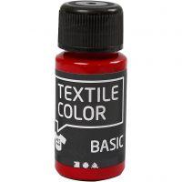 Textile Color, rood, 50 ml/ 1 fles