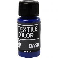 Textile Color, primair blauw, 50 ml/ 1 fles