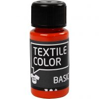 Textile Color, oranje, 50 ml/ 1 fles