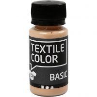 Textile Color, licht beige, 50 ml/ 1 fles