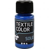 Textile Color, dekkend, brilliant blauw, 50 ml/ 1 fles