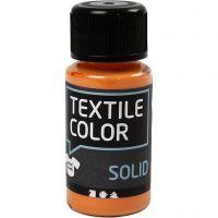Textile Color, dekkend, oranje, 50 ml/ 1 fles