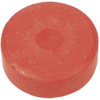 Waterverf, H: 19 mm, d: 57 mm, rood, 6 stuk/ 1 doos