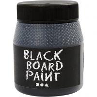 Schoolbordverf, zwart, 250 ml/ 1 doos