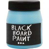 Schoolbordverf, turquoise, 250 ml/ 1 doos
