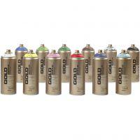 Spray verf, 12x400 ml/ 1 doos