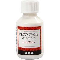 Decoupage lijmlak, glossy, 100 ml/ 1 fles