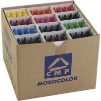 PRIMO wax krijtjes, diverse kleuren, 24x12 stuk/ 1 doos