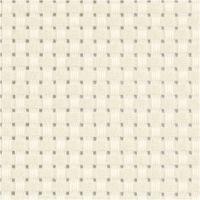 Aida, afm 50x50 cm, 24 vierkanten per 10 cm, off-white, 1 stuk