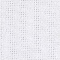Aida, B: 150 cm, 70 vierkanten per 10 cm, wit, 3 m/ 1 stuk