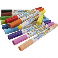 Mungyo gelpennen, diverse kleuren, 12 stuk/ 1 doos