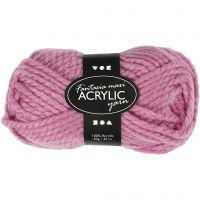 Fantasia acrylgaren, L: 35 m, afm maxi , roze, 50 gr/ 1 bol