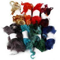 Curly Locks, diverse kleuren, 8x20 gr/ 1 bol