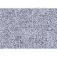 Hobbyvilt, A4, 210x297 mm, dikte 1,5-2 mm, gemelleerd, grijs, 10 vel/ 1 doos