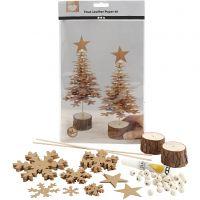Faux Leather Kerstboom, dikte 0,55 mm, 1 set