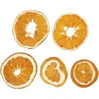 Gedroogde stukjes sinaasappel, d: 40-60 mm, 5 stuk/ 1 doos