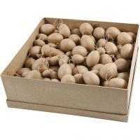 Eieren, H: 3-4-5-6 cm, 140 stuk/ 1 doos