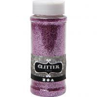 Glitter, roze, 110 gr/ 1 Doosje