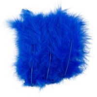 Veren, afm 5-12 cm, blauw, 15 stuk/ 1 doos