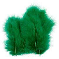 Veren, afm 5-12 cm, groen, 15 stuk/ 1 doos