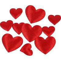 Satijnen harten, 700 stuk/ 1 doos