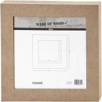 Fotolijst, afm 30,5x30,5 cm, 1 stuk