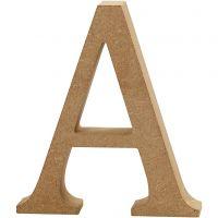 Letter, A, H: 8 cm, dikte 1,5 cm, 1 stuk