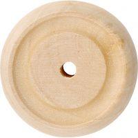 Wiel, d: 30x10 mm, 40 stuk/ 1 doos