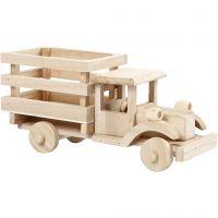 Truck, H: 11 cm, L: 22 cm, B: 7,5 cm, 1 stuk