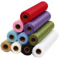 Tafelloper, B: 30 cm, diverse kleuren, 11x10 m/ 1 doos