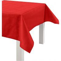 Tafelkleed van imitatiestof, B: 125 cm, 70 gr, rood, 10 m/ 1 rol
