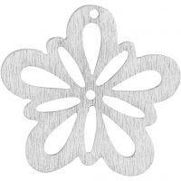 Bloem, d: 27 mm, off-white, 20 stuk/ 1 doos