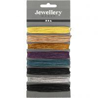 Katoenkoord, dikte 1 mm, diverse kleuren, 8x5 m/ 1 doos