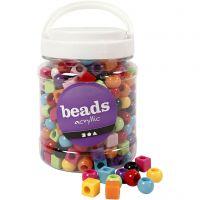 Multi Mix, afm 11 mm, gatgrootte 7 mm, diverse kleuren, 700 ml/ 1 Doosje, 420 gr