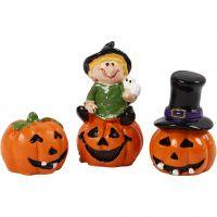 Miniatuur figuren, H: 1,5-3,5 cm, L: 2 cm, 3 stuk/ 1 doos