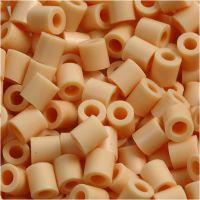 Strijkkralen, afm 5x5 mm, gatgrootte 2,5 mm, medium, lichtpoeder (32228), 1100 stuk/ 1 doos