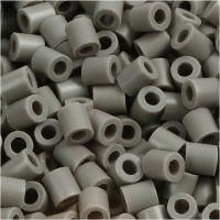 Strijkkralen, afm 5x5 mm, gatgrootte 2,5 mm, medium, essen (32226), 1100 stuk/ 1 doos