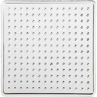 Onderplaat, klein vierkant, afm 7x7 cm, 10 stuk/ 1 doos