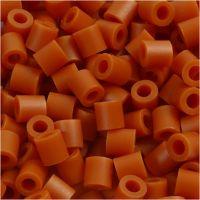 Foto kralen, afm 5x5 mm, gatgrootte 2,5 mm, rood bruin (5), 6000 stuk/ 1 doos