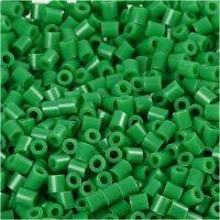 Foto kralen, afm 5x5 mm, gatgrootte 2,5 mm, groen (16), 6000 stuk/ 1 doos