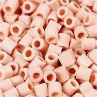 Foto kralen, afm 5x5 mm, gatgrootte 2,5 mm, roze (18), 1100 stuk/ 1 doos