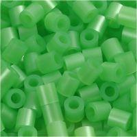Foto kralen, afm 5x5 mm, gatgrootte 2,5 mm, groen parelmoer (22), 6000 stuk/ 1 doos