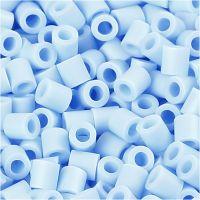 Foto kralen, afm 5x5 mm, gatgrootte 2,5 mm, lichtblauw (28), 1100 stuk/ 1 doos