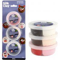 Silk Clay®, diverse kleuren, 6x7 gr/ 1 doos
